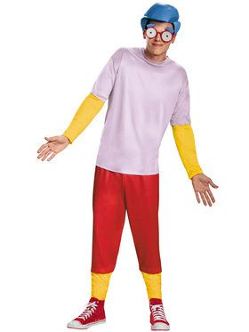 The Simpson's Milhouse Deluxe Men's Costume