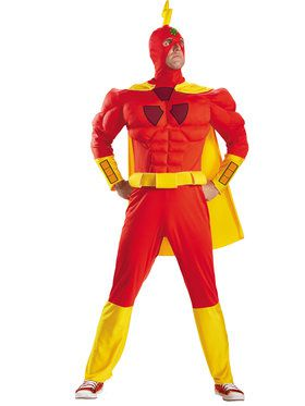 The Simpsons Radioactive Man Classic Muscle Men's Costume