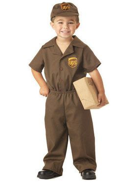 The UPS Guy Costume For Toddlers