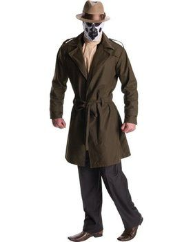 The Watchmen Adult Rorschach Costume