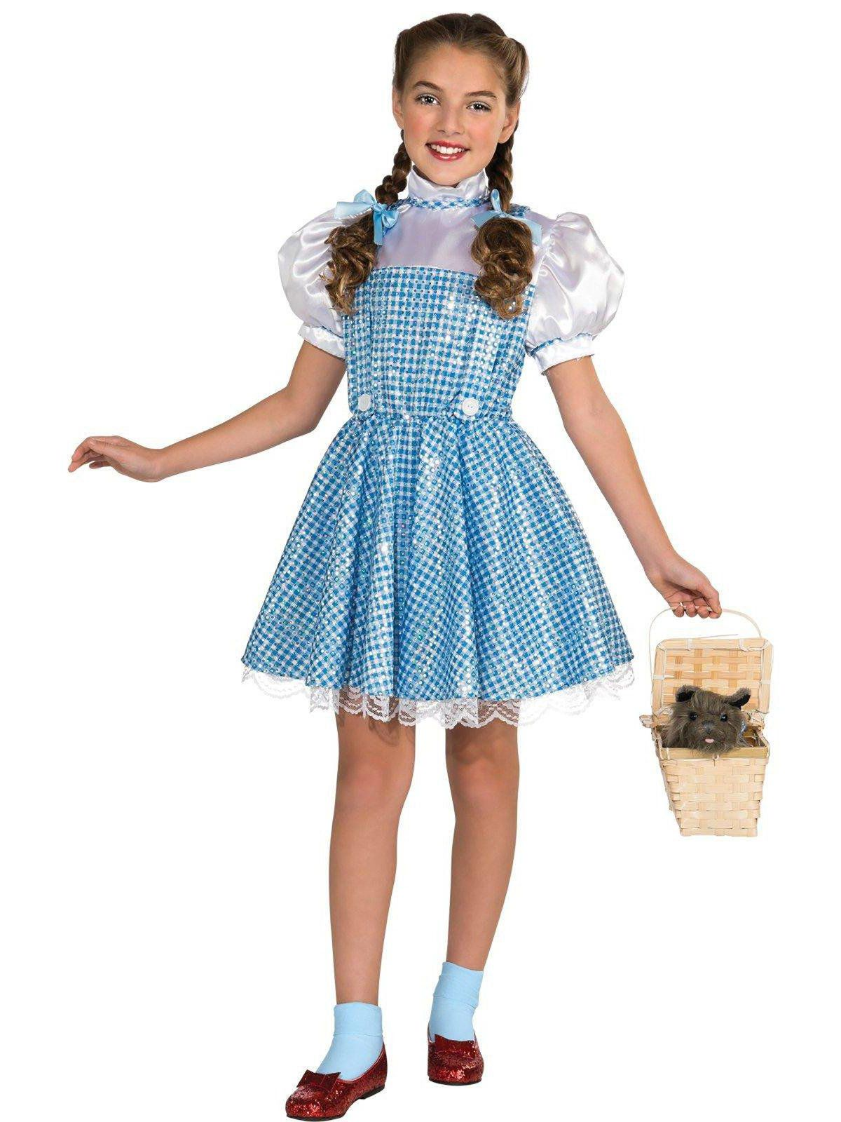 the wizard of oz dorothy costume for children - girls costumes for