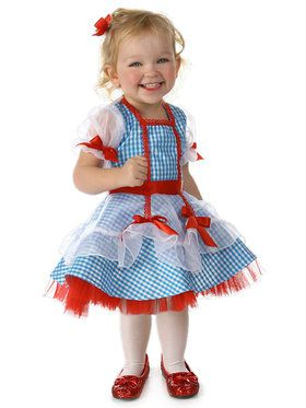 Infant Dorothy Wizard of Oz Costume