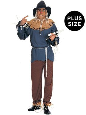 Plus Size The Wizard of Oz - Scarecrow Costume For Adults  sc 1 st  Wholesale Halloween Costumes & Mens Big u0026 Tall Halloween Costumes at Low Wholesale Prices