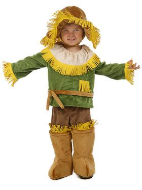 The Wizard of Oz Scarecrow Kids Costume