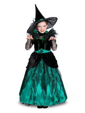 Girls Pocket Princess The Wizard Of Oz Wicked Witch Of The West Costume