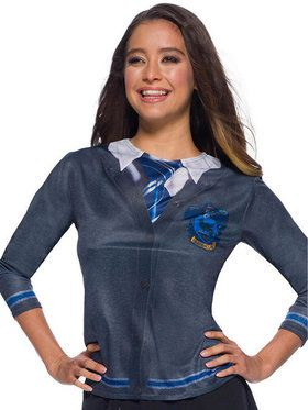 The Wizarding World Of Harry Potter Adult Ravenclaw Costume Top
