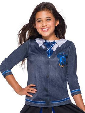 The Wizarding World Of Harry Potter Child Ravenclaw Costume Top