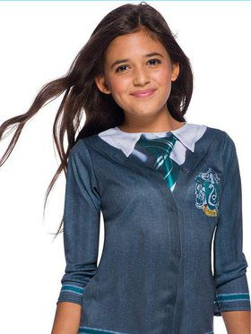 The Wizarding World Of Harry Potter Slytherin Child Costume Top