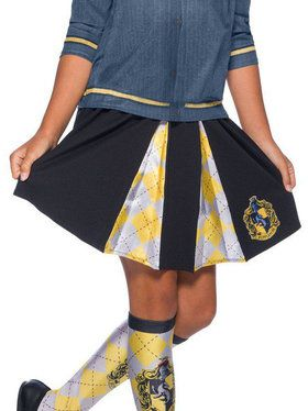 Girls The Wizarding World Of Harry Potter Hufflepuff Skirt