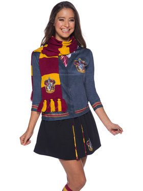 The Wizarding World Of Harry Potter Gryffindor Deluxe Adult Scarf