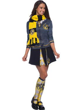 Deluxe The Wizarding World Of Harry Potter Hufflepuff Scarf