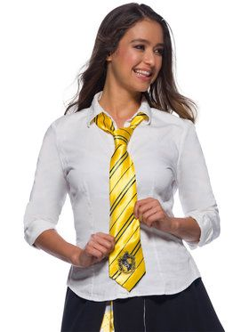 The Wizard World Of Harry Potter Childrens Hufflepuff Tie
