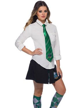 The Wizarding World Of Harry Potter Slytherin Adult Tie