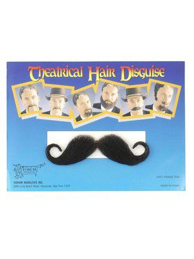 Theatrical Handlebar Moustache