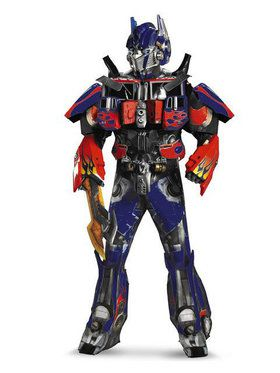 Theatrical Qual. Transformers Optimus Prime Costume Men