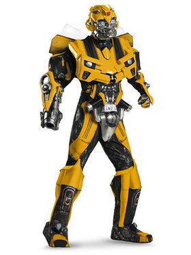 Vacuform Bumblebee 3D Adult Costume - Transformers 3