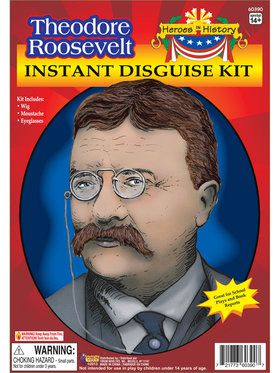 Heroes in History - Theodore Roosevelt Costume