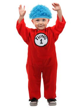 Thing 1 2 Infant Costume with Hat