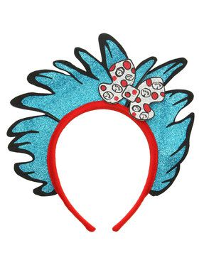 Thing 1 and 2 Glitter Headband For Children