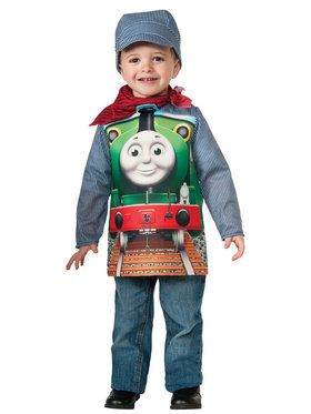 Thomas The Tank Deluxe Percy Costume For Toddlers