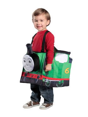 Thomas The Train Ride In Percy Train Boy's Costume