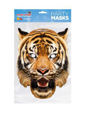 Face Mask - Tiger