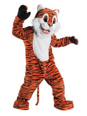Tiger Mascot Adult's Mascot Costume