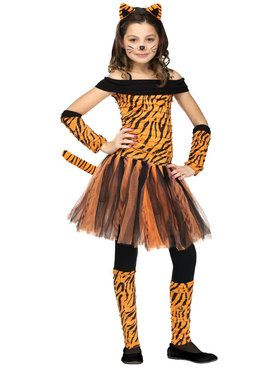 Tigress Costume For Children