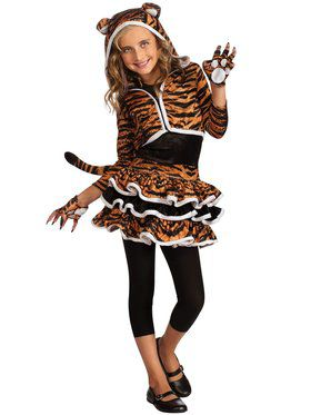 Tigress Hoodie Child Costume