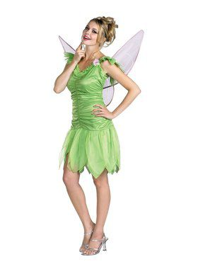 Tinkerbell Quality Dress Adult
