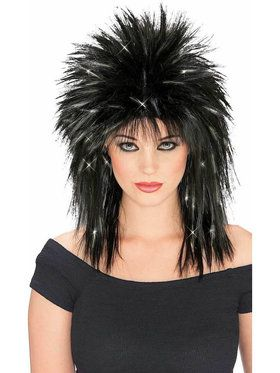 Tinsel Wig for Adults