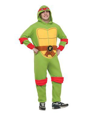 TMNT Adult Michelangelo Jumpsuit Men's Costume