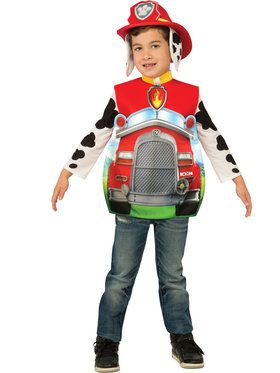 Toddler 3D Marshall Paw Patrol Costume Toddler