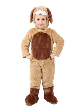 Toddler Ben the Brown Puppy Costume