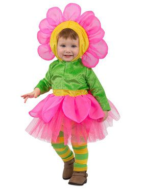 Toddler Bright Flower Costume