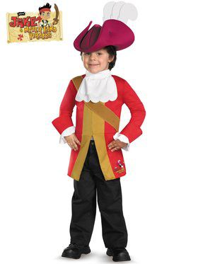 Toddler Captain Hook Jake and the Neverland Pirates Costume
