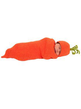 Newborn Carrigan the Carrot Bunting Costume