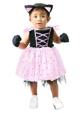 Infant's Clawdia the Cat Costume
