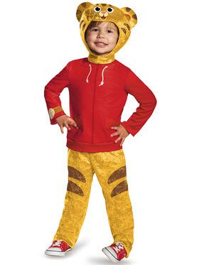 Toddler Daniel Tiger Classic Child Costume