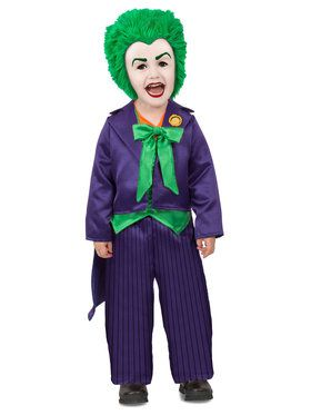 DC Comics Batman Toddler Joker Costume