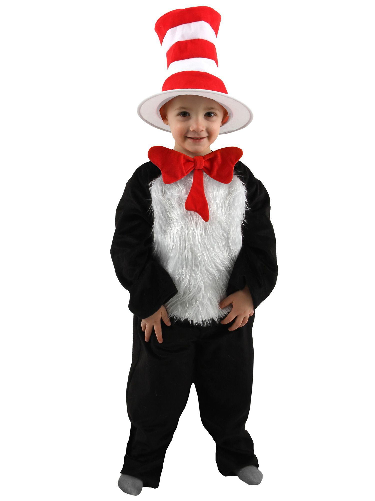 c1d255a9 Toddler Deluxe Dr. Seuss Cat in the Hat Costume - Baby/Toddler ...