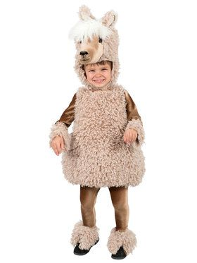 Deluxe Llama Toddler Costume