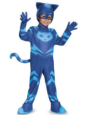 Toddler Deluxe PJ Masks Catboy Costume