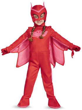 Toddler Deluxe PJ Masks Owlette Costume