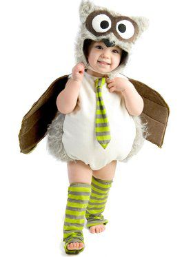 Toddler Edward The Owl Boy's Costume