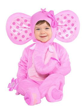 Sweet Baby Elephant Costume