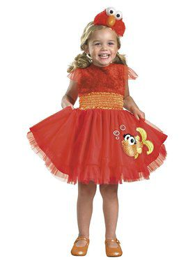 Toddler Frilly Sesame Street Elmo Costume