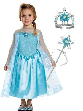 Toddler Frozen Elsa Costume Kit Deluxe