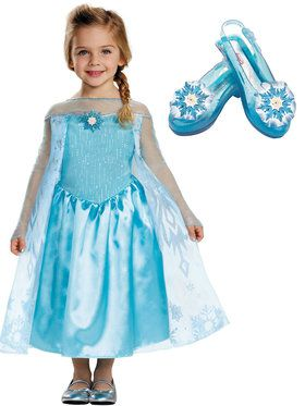 Toddler Frozen Elsa Costume Kit