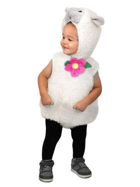 Furry Lamb Toddler Costume